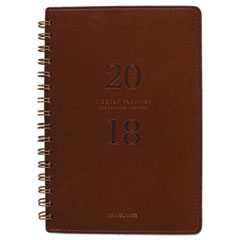 AT-A-GLANCE® Signature Collection™ Distressed Brown Weekly Monthly Planner Thumbnail