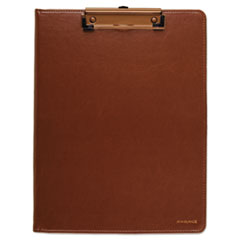 AT-A-GLANCE® Signature Collection Monthly Clipfolio, 11 x 8 1/2, Distressed Brown, 2020