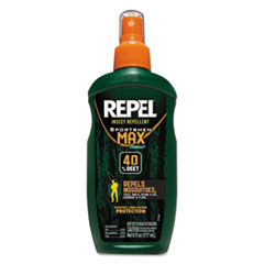 Diversey™ Repel Insect Repellent Sportsmen Max Formula Spray, 6 oz Spray, 12/CT