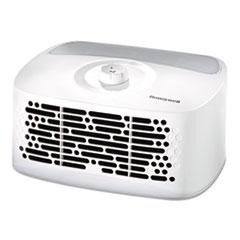 Honeywell HEPAClean Tabletop Air Purifier, 85 sq ft Room Capacity, White