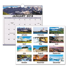 AT-A-GLANCE® Landscape Monthly Wall Calendar Thumbnail