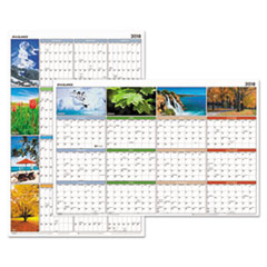"AT-A-GLANCE® ""Seasons in Bloom"" Vertical/Horizontal Erasable Wall Planner Thumbnail"