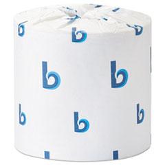 Boardwalk® Office Packs Standard Bathroom Tissue, Septic Safe, 2-Ply, White, 504 Sheets/Roll, 80 Rolls/Carton