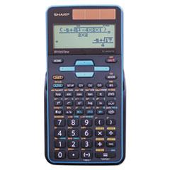 Sharp® EL-W535TGBBL Scientific Calculator, 16-Digit LCD
