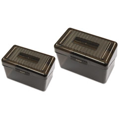 Universal® Plastic Index Card Boxes