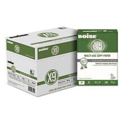 X-9 Multi-Use Copy Paper, 92 Bright, 24lb, 8.5 x 11, White, 500 Sheets/Ream, 10 Reams/Carton