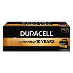 Duracell® CopperTop Alkaline Batteries, AA, 36/PK