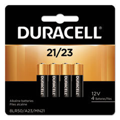 Duracell® Specialty Alkaline Battery, 21/23, 12V, 4/Pack