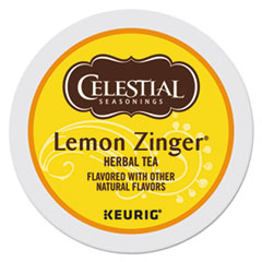 Lemon Zinger Herbal Tea K-Cups, 24/Box