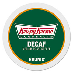 Krispy Kreme Doughnuts® Classic Decaf Coffee K-Cups, Medium Roast, 24/Box