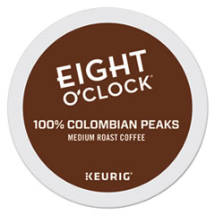 Eight O'Clock Colombian Peaks Coffee K-Cups
