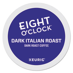 Eight O'Clock Dark Italian Roast Coffee K-Cups