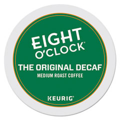 Eight O'Clock Original Decaf Coffee K-Cups, 24/Box