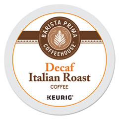 Barista Prima Coffeehouse® Decaf Italian Roast Coffee K-Cups, 24/Box