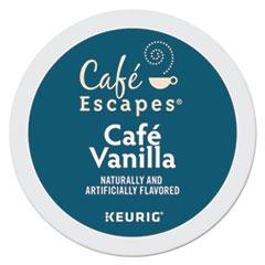 Café Escapes® Café Vanilla K-Cups, 24/Box