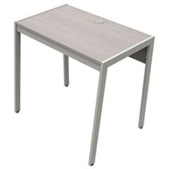 Linea Italia® Klin Desk, 33w x 19d x 29.5h, Ash