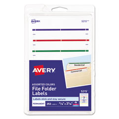"Avery® 4"" x 6"" - Permanent File Folder Labels Thumbnail"
