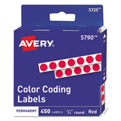 Avery® Handwrite-Only Self-Adhesive Removable Round Color-Coding Labels in Dispensers Thumbnail
