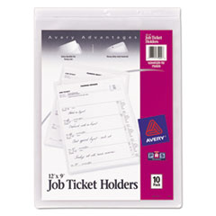 Avery® Heavyweight Clear Job Ticket Holder Thumbnail