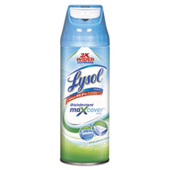 LYSOL® Brand Max Cover Disinfectant Mist, Garden After Rain, 12.5 oz Aerosol Spray, 6/Carton