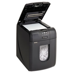 Stack-and-Shred 130X Auto Feed Super Cross-Cut Shredder, 130 Auto/6 Manual Sheet Capacity