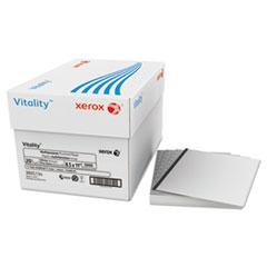 Xerox® Vitality Multipurpose Punched Paper, 11-Hole, 20lb, 8 1/2x11, White, 5000 Sheets
