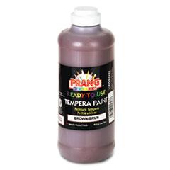 Prang® Ready-to-Use Tempera Paint, Brown, 16 oz