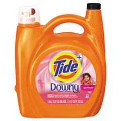 Tide® Touch of Downy Liquid Laundry Detergent, April Fresh, 138 oz Bottle, 4/Carton