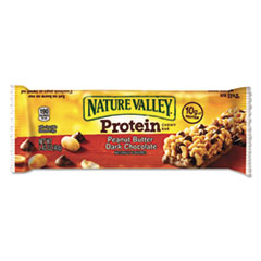 Nature Valley® Protein Chewy Bar, Peanut Butter Chocolate, Box, 1.5 lb, 16 per box