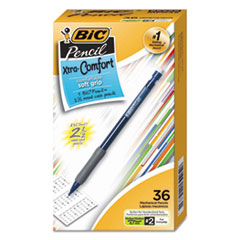 Xtra-Comfort Mechanical Pencil, 0.7 mm, HB (#2.5), Black Lead, Assorted Barrel Colors, 36/Pack