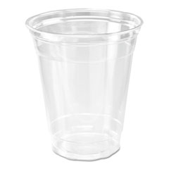 Dixie® Clear Plastic PETE Cups, 14 oz, Clear, 20/carton