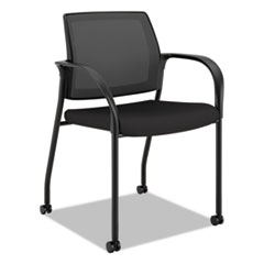HON® Ignition 2.0™ Ilira-Stretch Mesh Back Mobile Stacking Chair Thumbnail