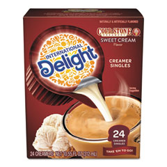 International Delight® Flavored Liquid Non-Dairy Creamer, Coldstone Sweet Cream, Mini Cups, 24/Box