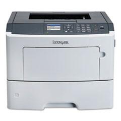 Lexmark™ MS617dn, Wireless, Laser Printer