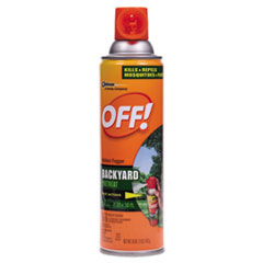 OFF!® Backyard Insect Repellent, 16 oz Aerosol, 12/Carton