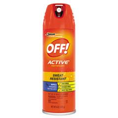 OFF!® ACTIVE Insect Repellent, 6 oz Aerosol, 12/Carton