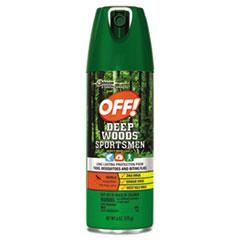 OFF!® Deep Woods Sportsmen Insect Repellent, 6 oz Aerosol, 12/Carton