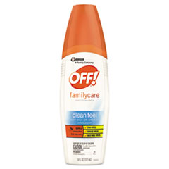 OFF!® FamilyCare Spray Insect Repellent, 6 oz, Bottle