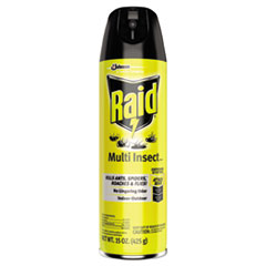 Raid® Multi Insect Killer, 15 oz Aerosol Can, 12/Carton