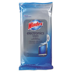 Windex® Electronics Cleaner, 25 Wipes