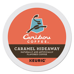 Caribou Coffee® Caramel Hideaway K-Cups, Mild Roast, 24/Box