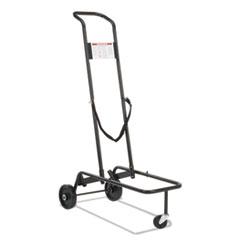 Virco Stacking Chair Truck Cart, 10 Virco-Chair Capacity, 39-7/8 x 21 x 60-3/4, Black