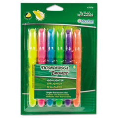 Ticonderoga® Emphasis™ Desk Style Highlighters Thumbnail