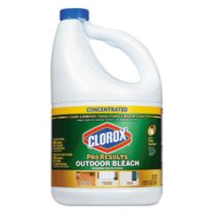 Clorox® Outdoor Bleach, 120 oz Bottle, 3/Carton