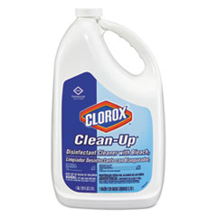 Clorox® Clean-Up Disinfectant Cleaner with Bleach, Fresh, 128 oz Refill Bottle