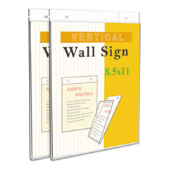 Universal® Wall Mount Sign Holder