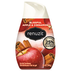 Adjustables Air Freshener, Blissful Apples and Cinnamon, 7 oz Cone, 12/Carton