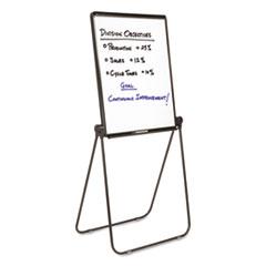 Quartet® Ultima Presentation Easel, 27 x 34, White Surface, Black Frame