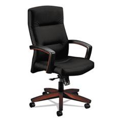 Image of 5000 Series Park Avenue Collection Executive High-Back Knee Tilt Chair, Black Chairs HON5001NUR10 HON