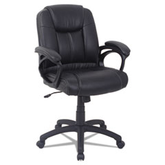 Alera® CC Series Executive Mid-Back Bonded Leather Chair